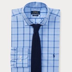 Polo by Ralph Lauren Slim Fit Plaid Poplin Shirt